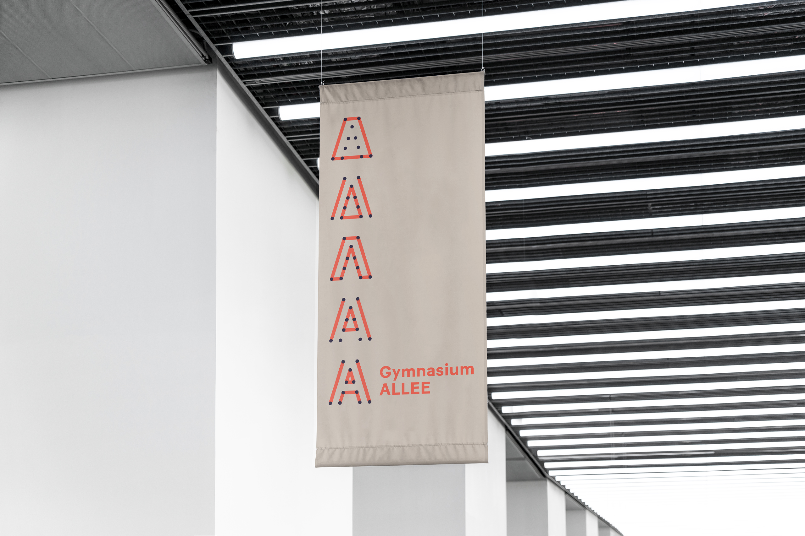 Gymnasium-ALLEE-Corporate-design-Flag2